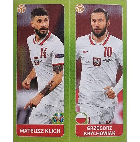 Panini EURO 2020 Sticker Nr 483 Klich Krychowiak
