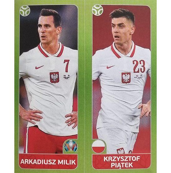 Panini EURO 2020 Sticker Nr 485 Milik Piatek