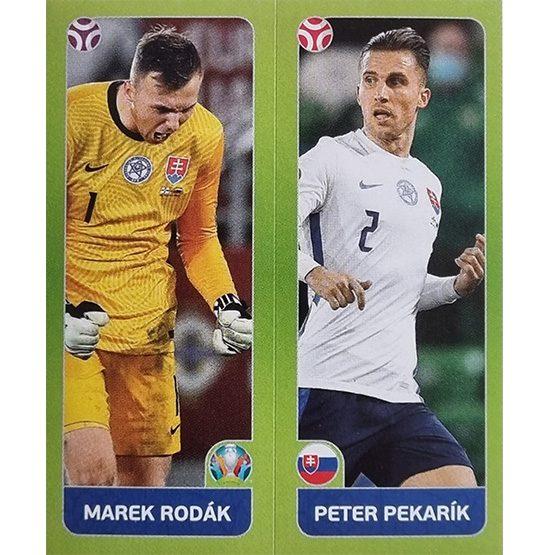 Panini EURO 2020 Sticker Nr 486 Rodak Pekarik