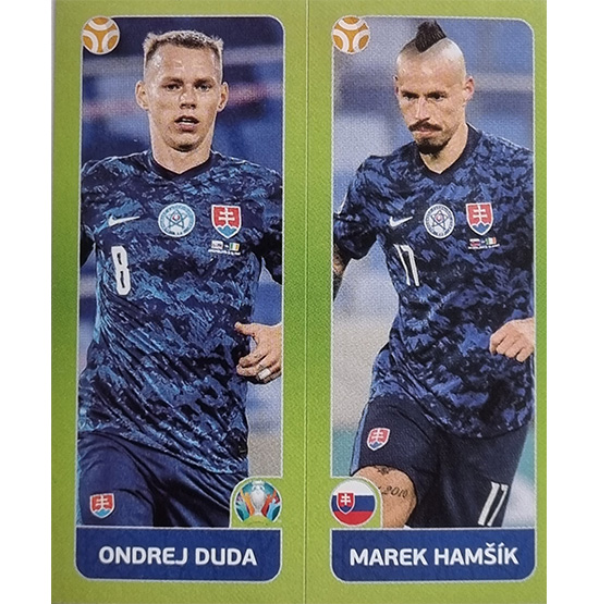 Panini EURO 2020 Sticker Nr 488 Duda Hamsik
