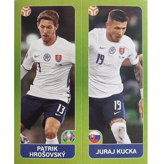Panini EURO 2020 Sticker Nr 489 Hrosovsky Kucka