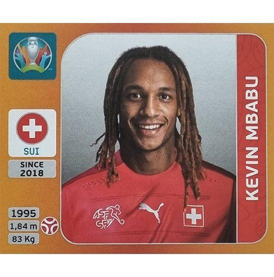 Panini EURO 2020 Sticker Nr 049 Kevin Mbabu