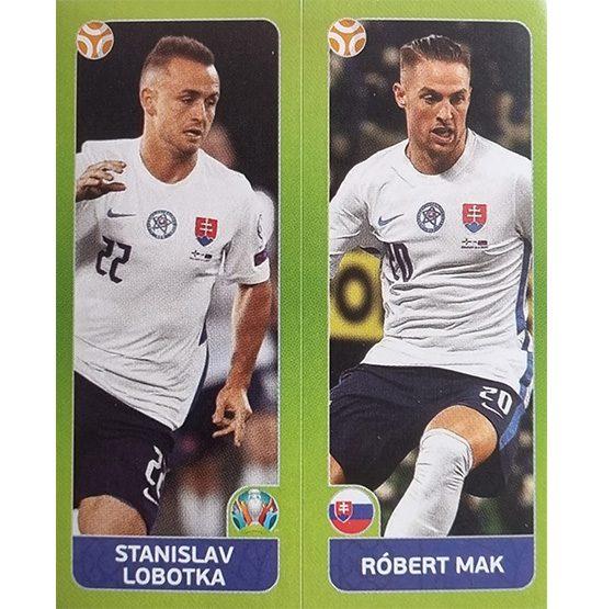 Panini EURO 2020 Sticker Nr 490 Lobotka Mak