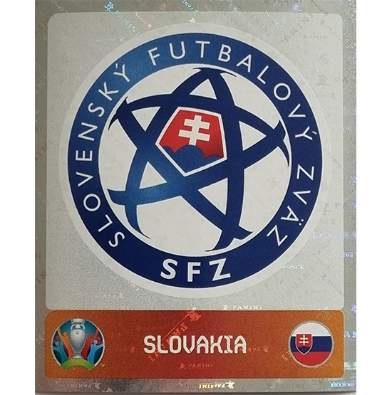 Panini EURO 2020 Sticker Nr 492 Slovakia Logo