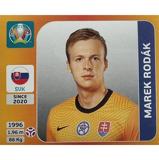 Panini EURO 2020 Sticker Nr 493 Marek Rodak