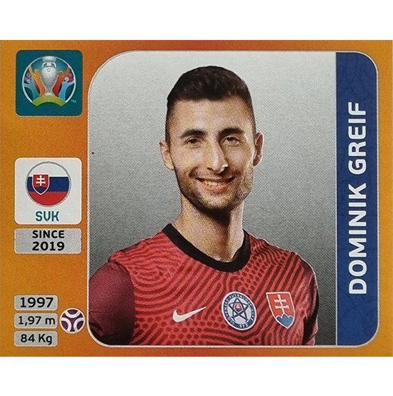 Panini EURO 2020 Sticker Nr 494 Dominik Greif