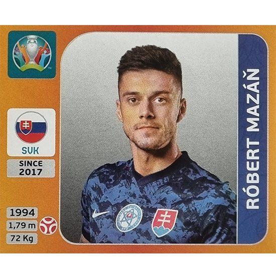 Panini EURO 2020 Sticker Nr 496 Robert Mazan