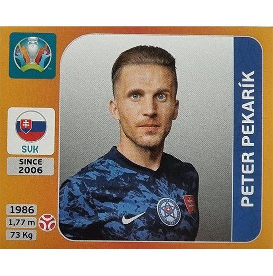 Panini EURO 2020 Sticker Nr 497 Peter Pekarik