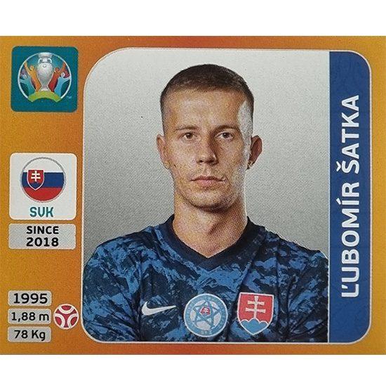 Panini EURO 2020 Sticker Nr 498 Lubomir Satka