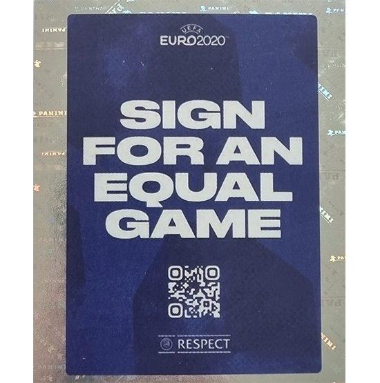 Panini EURO 2020 Sticker Nr 005