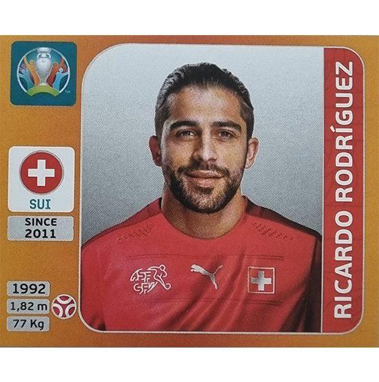 Panini EURO 2020 Sticker Nr 050 Ricardo Rodriguez