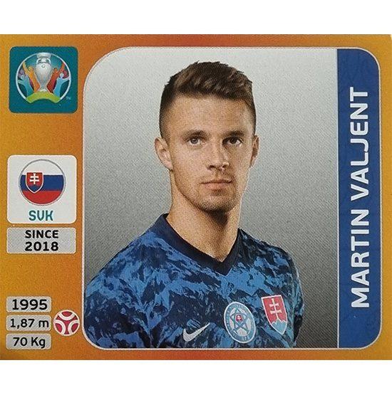 Panini EURO 2020 Sticker Nr 500 Martin Valjent
