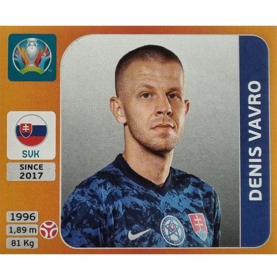 Panini EURO 2020 Sticker Nr 501 Denis Vavro