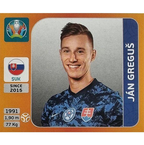 Panini EURO 2020 Sticker Nr 503 Jan Gregus