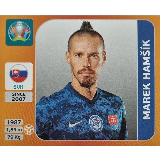Panini EURO 2020 Sticker Nr 504 Marek Hamsik