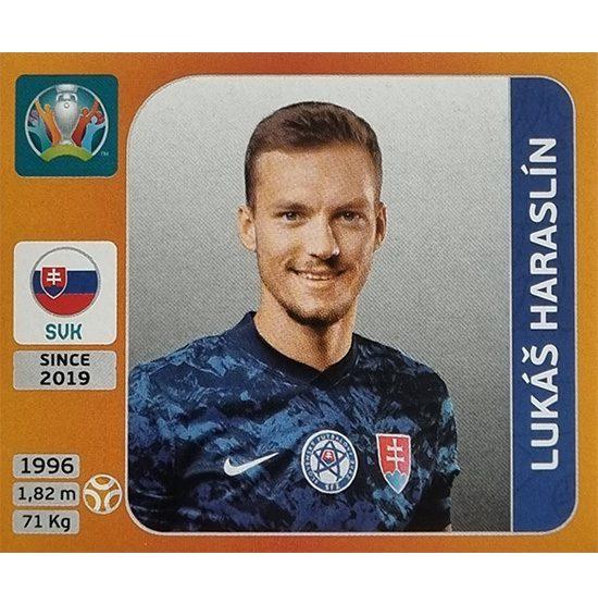 Panini EURO 2020 Sticker Nr 505 Lukas Haraslin