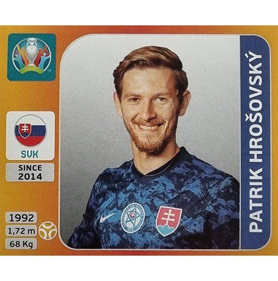 Panini EURO 2020 Sticker Nr 506 Patrik Hrosovsky