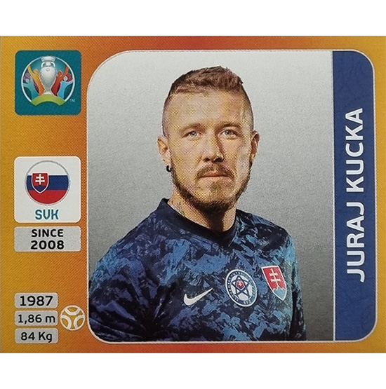 Panini EURO 2020 Sticker Nr 507 Juraj Kucka