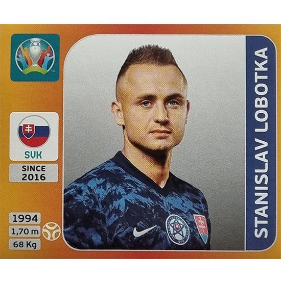 Panini EURO 2020 Sticker Nr 508 Stanislav Lobotka