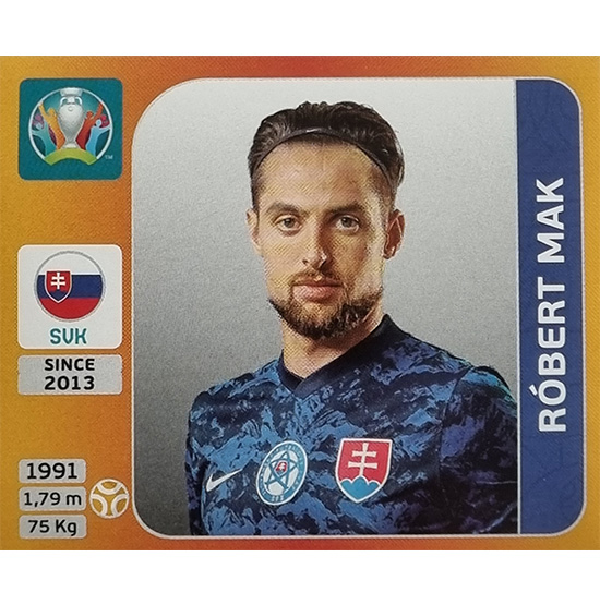 Panini EURO 2020 Sticker Nr 509 Robert Mak