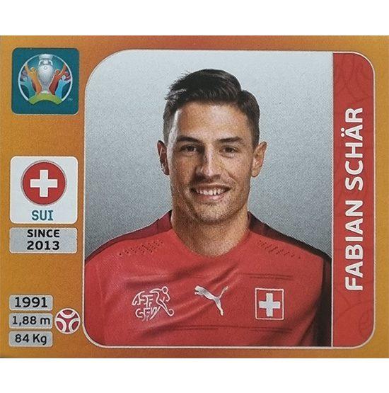 Panini EURO 2020 Sticker Nr 051 Fabian Schär