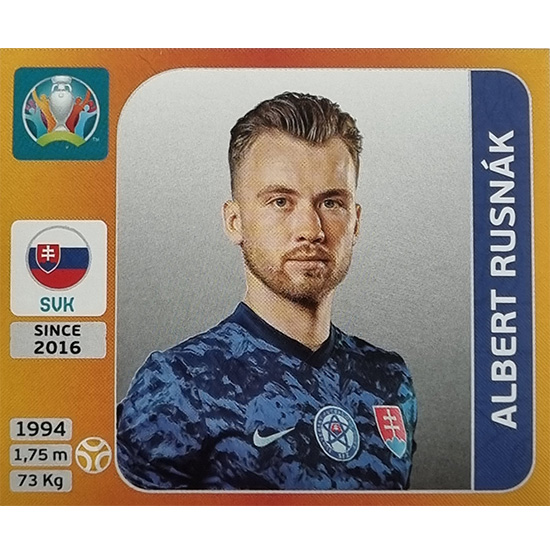 Panini EURO 2020 Sticker Nr 510 Albert Rusnak