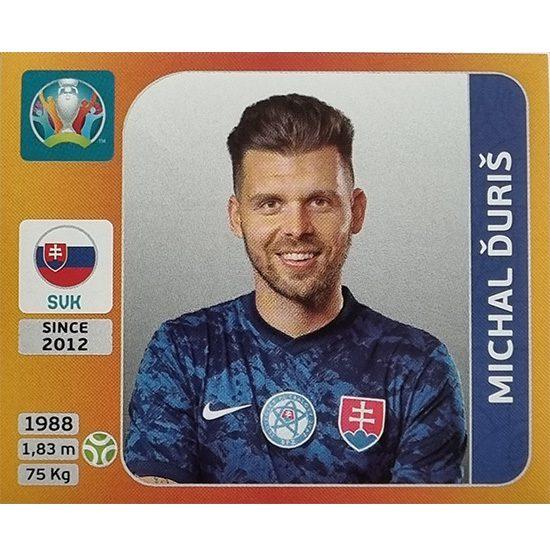 Panini EURO 2020 Sticker Nr 512 Michal Duris