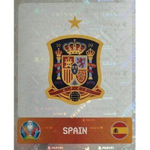 Panini EURO 2020 Sticker Nr 513 Spain Logo