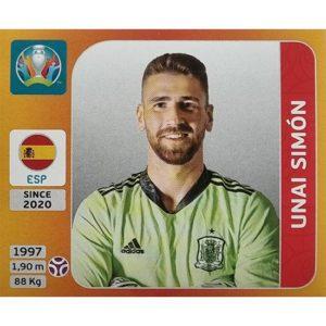 Panini EURO 2020 Sticker Nr 514 Unai Simon