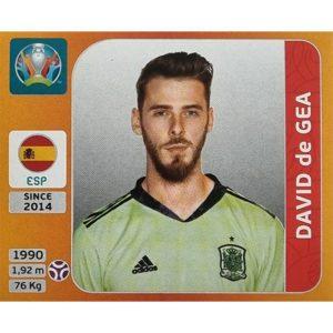 Panini EURO 2020 Sticker Nr 515 David de Gea