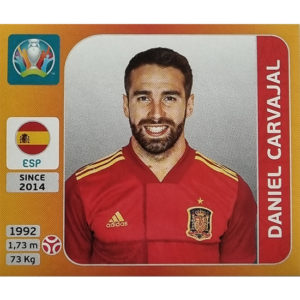 Panini EURO 2020 Sticker Nr 516 Daniel Carvajal
