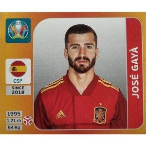Panini EURO 2020 Sticker Nr 517 Jose Gaya