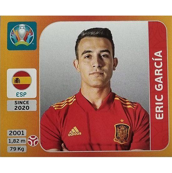Panini EURO 2020 Sticker Nr 518 Eric Garcia