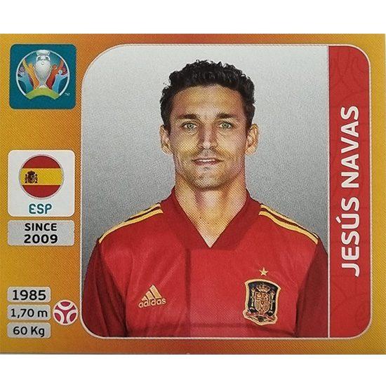 Panini EURO 2020 Sticker Nr 519 Jesus Navas