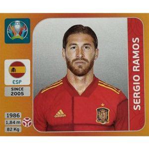 Panini EURO 2020 Sticker Nr 521 Sergio Ramos