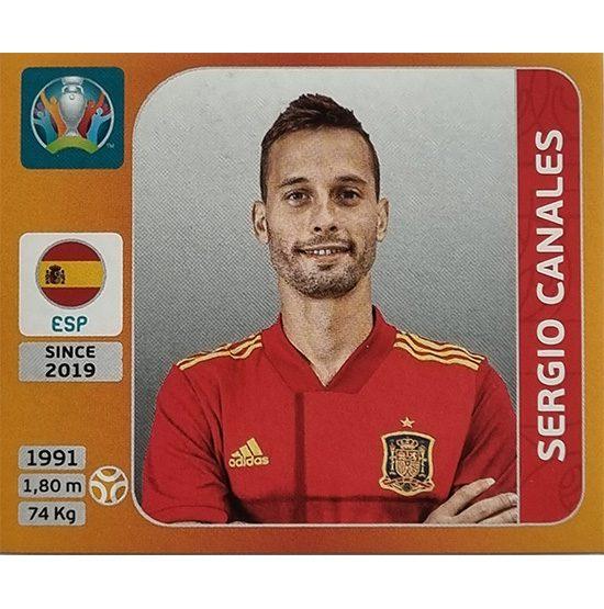 Panini EURO 2020 Sticker Nr 522 Sergio Canales
