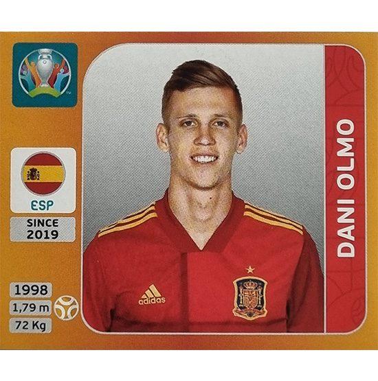 Panini EURO 2020 Sticker Nr 523 Dani Olmo