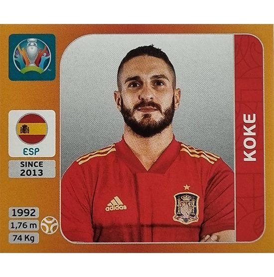 Panini EURO 2020 Sticker Nr 524 Koke