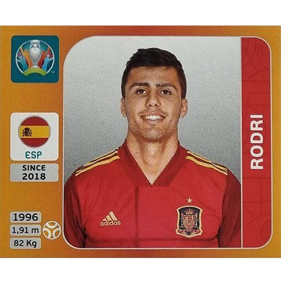 Panini EURO 2020 Sticker Nr 525 Rodri