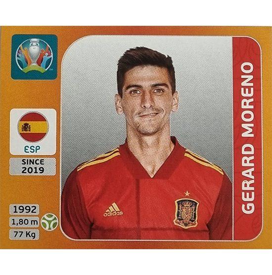 Panini EURO 2020 Sticker Nr 531 Gerard Moreno