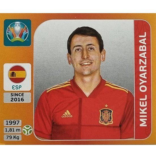 Panini EURO 2020 Sticker Nr 532 Mikel Oyarzabal