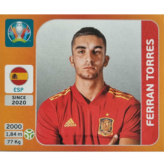 Panini EURO 2020 Sticker Nr 533 Ferran Torres