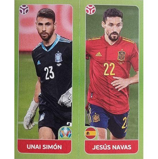 Panini EURO 2020 Sticker Nr 534 Simon Navas