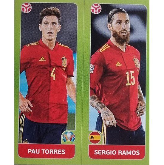Panini EURO 2020 Sticker Nr 535 Torres Ramos