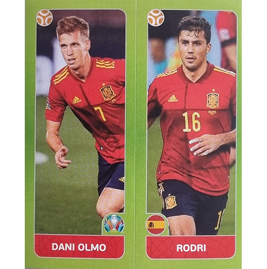 Panini EURO 2020 Sticker Nr 536 Olmo Rodri