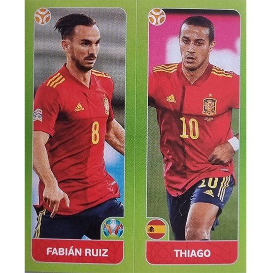 Panini EURO 2020 Sticker Nr 537 Ruiz Thiago