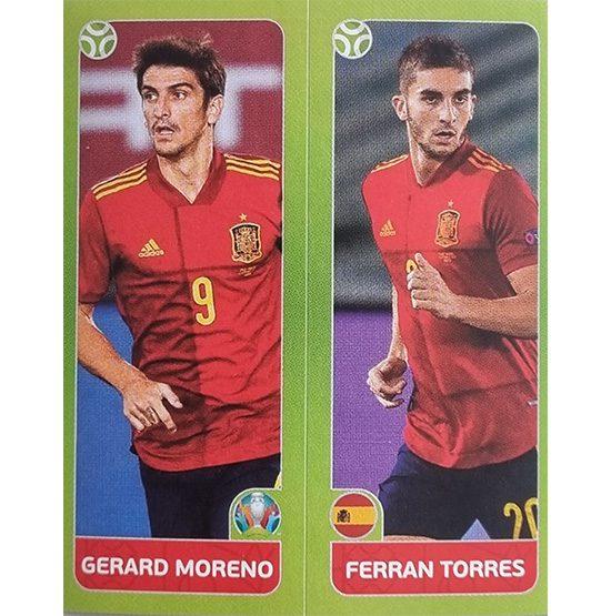 Panini EURO 2020 Sticker Nr 539 Moreno Torres