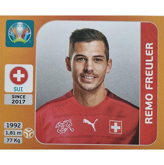 Panini EURO 2020 Sticker Nr 054 Remo Freuler