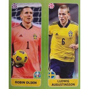 Panini EURO 2020 Sticker Nr 540 Olsen Augustinsson
