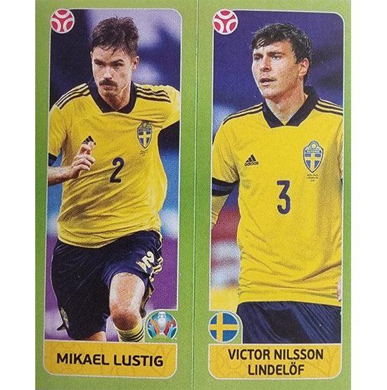 Panini EURO 2020 Sticker Nr 541 Lustig Lindelöf